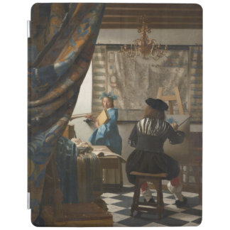 The Art of Painting by Johannes Vermeer iPad Cover