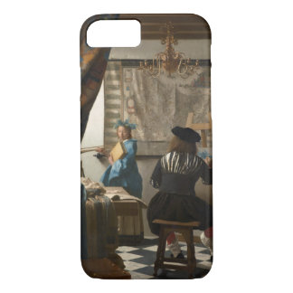 The Art of Painting by Johannes Vermeer iPhone 7 Case