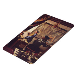 The Art of Painting by Johannes Vermeer Magnet
