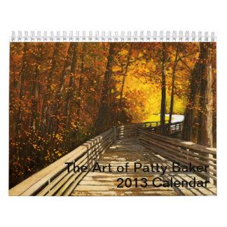 The Art of Patty Baker Calendar