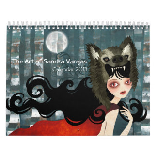 The Art of Sandra Vargas Calendar 2013