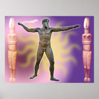 The Artemision Zeus or Poseidon_04 Poster