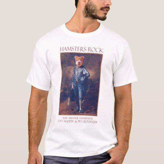 The Artful Hamster Blue Boy T-Shirt