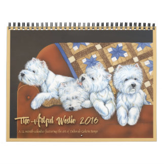 The Artful Westie 2016 Calendar