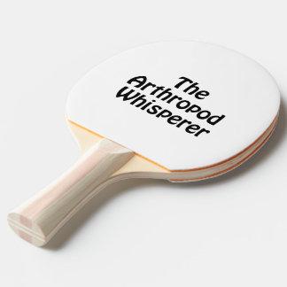 the arthropod whisperer Ping-Pong paddle