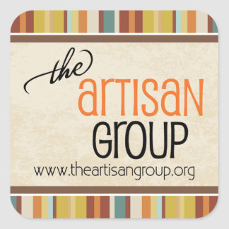 The Artisan Group Sticker (square)