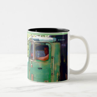 """The artist is extremely lucky who is presented... Two-Tone Coffee Mug"