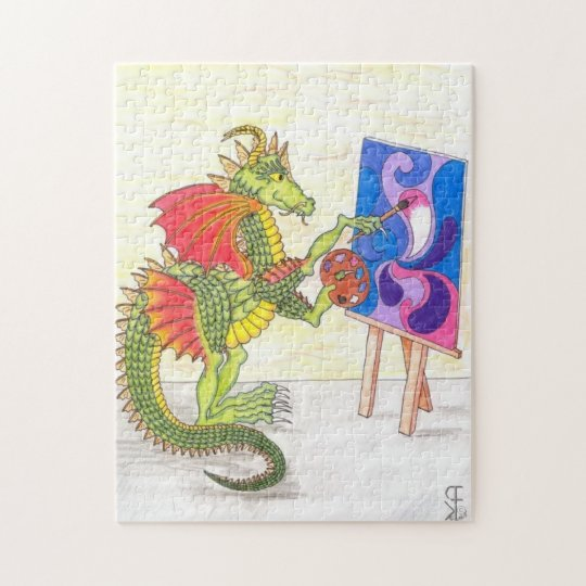 The Artist Jigsaw Puzzle
