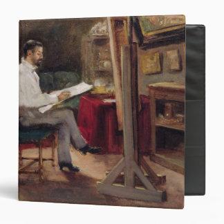 The Artist Morot in his Studio, c.1874 Binders