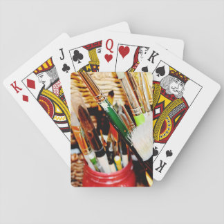 The Artist Playing Cards