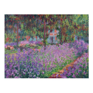 The Artist s Garden at Giverny 1900 Postcards