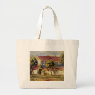 The Artist s House by Pierre-Auguste Renoir Jumbo Tote Bag
