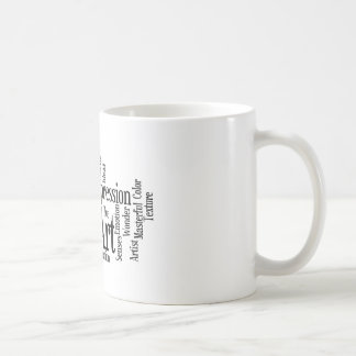 The Artistic Process Creative Artist Art Student's Coffee Mug