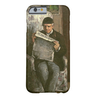 """The Artist's Father, Reading """"L'Événement"""", 1866 Barely There iPhone 6 Case"""