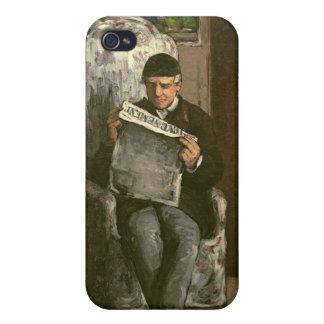 """The Artist's Father, Reading """"L'Événement"""", 1866 iPhone 4/4S Cases"""