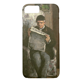 "The Artist's Father, Reading ""L'Événement"", 1866 iPhone 7 Case"