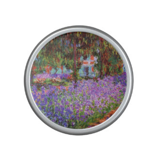 The Artist's Garden at Giverny by Monet Bluetooth Speaker