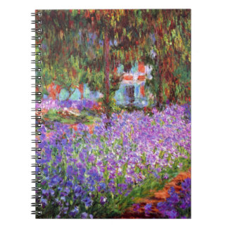 The Artist's Garden at Giverny by Monet Notebooks