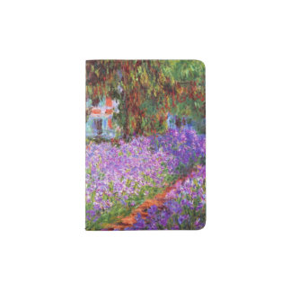 The Artist's Garden at Giverny by Monet Passport Holder