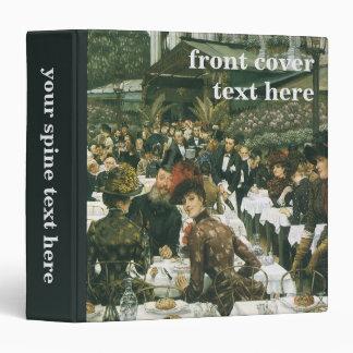 The Artist's Ladies by James Tissot 3 Ring Binders