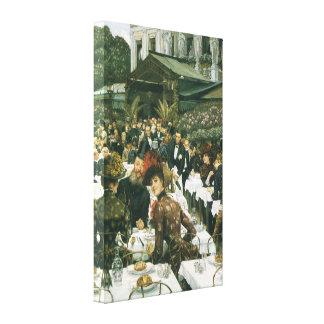 The Artist's Ladies by James Tissot Canvas Print