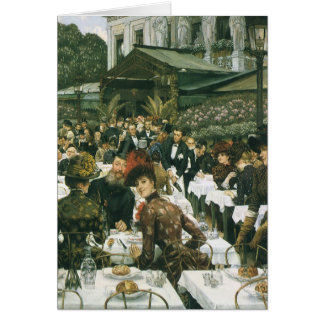 The Artist's Ladies by James Tissot Greeting Card