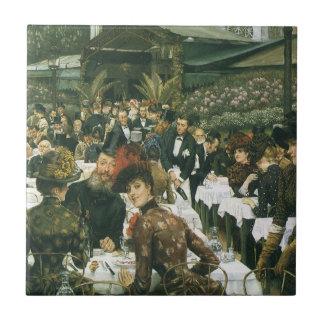 The Artist's Ladies by James Tissot Tiles