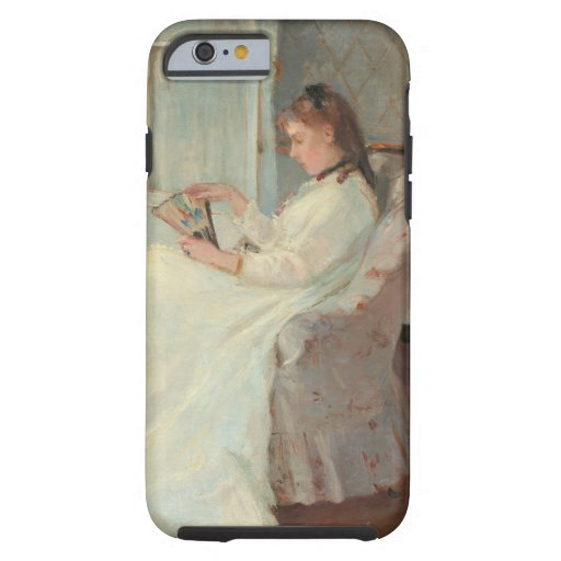 The Artist's Sister at a Window, 1869 iPhone 6 Case