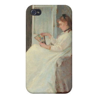The Artist's Sister at a Window, 1869 iPhone 4/4S Cases
