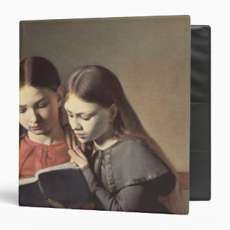 The Artist's Sisters Signe and Henriette Vinyl Binder