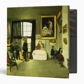 The Artist's Studio, 1870 Vinyl Binder