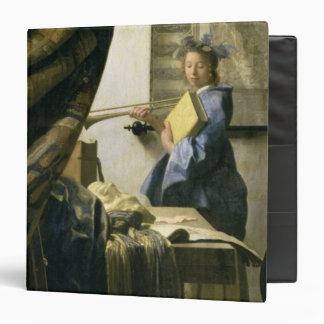 The Artist's Studio, c.1665-6 Binder