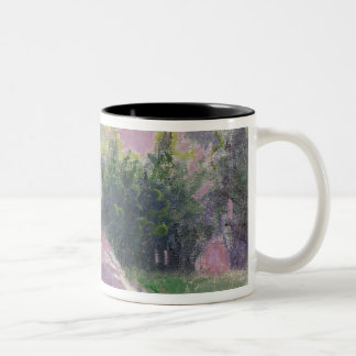 The Artist's wife Two-Tone Coffee Mug