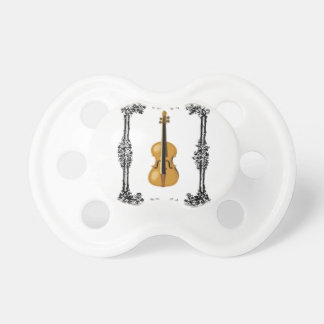 the arts violin baby pacifiers