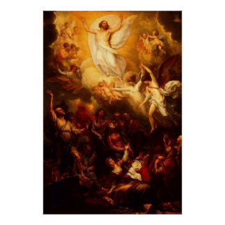The Ascension of Christ Poster