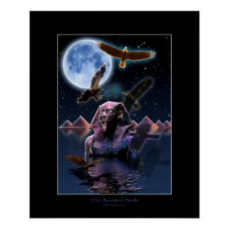 THE ASCENT OF SOULS Art Poster