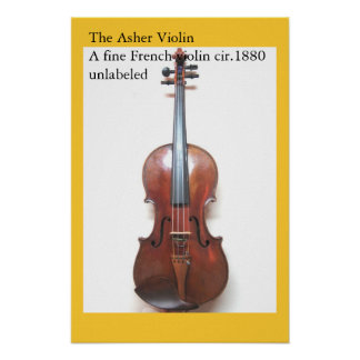 The Asher Violin Poster