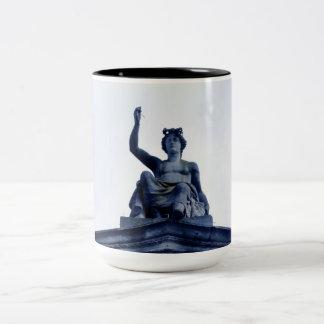 The Ashmolean Museum of Art & Archaeology Two-Tone Coffee Mug