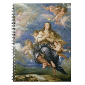 The Assumption of Mary Magdalene (oil on canvas) Notebooks