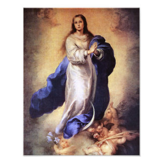 THE ASSUMPTION OF THE BLESSED VIRGIN MARY PHOTOGRAPHIC PRINT