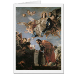 The Assumption of the Virgin, 1673 (oil on canvas) Card