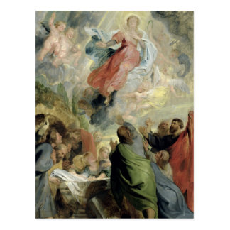 The Assumption of the Virgin Mary Postcard