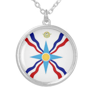 The Assyrian Flag Necklace