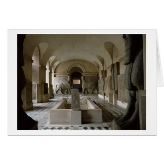 The Assyrian Room at the Louvre in Paris (photo) Card
