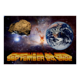 The Asteroid 2182 Poster