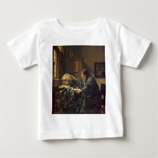 The Astronomer by Johannes Vermeer Baby T-Shirt