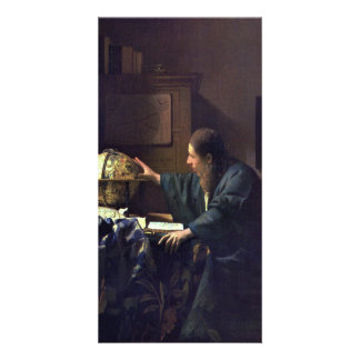 The Astronomer by Johannes Vermeer Picture Card