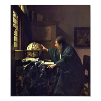 The Astronomer by Johannes Vermeer Photo Art
