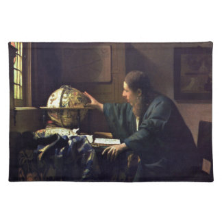 The Astronomer by Johannes Vermeer Placemat