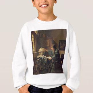 The Astronomer by Johannes Vermeer Sweatshirt